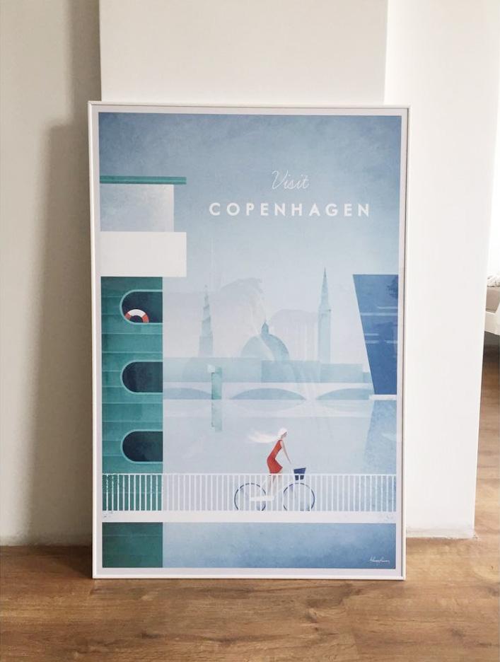 Travel Print Copenhagen Print Travel Poster Copenhagen Poster Wall Art Print